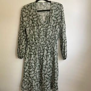 Green Mid sleeve dress